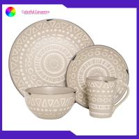 China Nordic Dinner Ceramic Pottery Dinnerware Sets Mugs Sala Bowl Eco - Friendly for sale