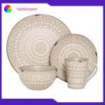 Nordic Dinner Ceramic Pottery Dinnerware Sets Mugs Sala Bowl Eco - Friendly for sale