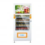 China Automatic Smart Electronic Conveyor Vending Machine With 32 Inch Large Touchscreen for sale