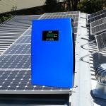 China Multifunctional Off Grid Solar System 12 Volt Complete Home Systems 15A Blue LiFePO4 Battery for sale