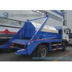 Dongfeng 6 Ton - 8 Ton Garbage Collection Truck Swing Arm With Left Hand Drive for sale
