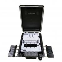 Outdoor Mounted Fiber Optic Cable Termination Box With 8 Sc Simplex Adapter