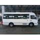 Manual City Mini Passenger Bus Gearbox 19 Seat Luxury Diesel ISUZU Engine for sale