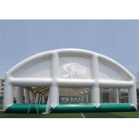 Giant Sports Arena Air Sealed Inflatable Tent Stadium With Roll Up Doors for sale