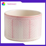 Stoneware Custom Embossed Coffee Mugs , Ceramic Travel Coffee Mugs 100ml Capacity for sale