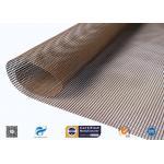 China FDA High Temperature PTFE Coated Glass Fibre Fabric Food Conveyor Belt for sale