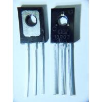 China MJE13003 Tip Power Transistors NPN Silicon Material Triode Transistor Type for sale