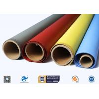 China Heat Resistant Silicone Coated Fiberglass Fabric Insulation Material for sale