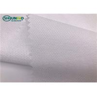 Easy Tear 50gsm Pp Spunbond Non Woven Fabric For Garment Embroidery Backing for sale