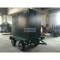 Mobile Type Double Stage Vacuum Transformer Oil Filter Machine ZYD-100 Weather Proof for sale