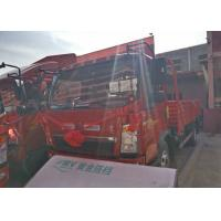 2T Front Axle SINOTRUK HOWO Light Truck , 8 Ton Tipper Truck RHD 4X2 116HP for sale
