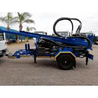 200M  Trailer Mounted Portable Well Drilling Rig With 89mm Drilling Pipes for sale