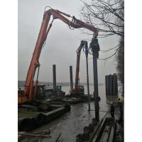 Small Volume Concrete Pile Driving Equipment Low Noise During Construction
