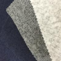 Coarser Knit Sweater Polyester Material Fabric 100% Polyester Fashion Design for sale
