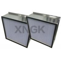 China Rigid HEPA Filter With Aluminum Separator Galvanized Steel Frame Clean Room for sale