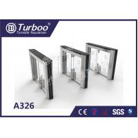Swing barrier  vehicle and pedestrian access control automatic systems pedestrian turnstile gate for sale