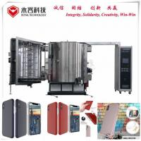 China PVD Thermal Evaporation Sputter Coating Machine For Cell Phone Case Shielding Coating for sale