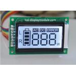 TN 7 Segement Dot Matrix LCD Display Module 3 Digital Display With White Backlight for sale