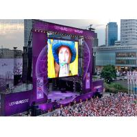 China CE SMD1921 P3.91 Outdoor led display rental With Video Processor , Great Waterproof for sale