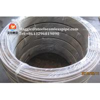 China Stainless Steel Coil Tubing ASTM A269 TP304 TP304L TP316L TP316Ti TP321 TP347H for sale