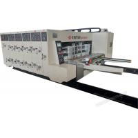 China Automatic Printing Slotting Die-Cutter Corrugated Cardboard Making Machine high precision for sale