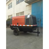 Diesel Driven Portable High Pressure Air Compressor Machine 70KW 95HP for Construction for sale