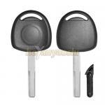 China Pop Selling in USA Market Opel Transponder Key Shell No Logo Automotive Key Case for sale
