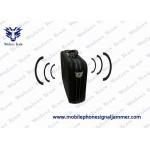 China Handbag Design Portable Cell Phone Jammer Inner Aluminum Housing Middle RF Power Jammer for sale