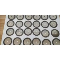 One Sided Coated Electroplated CBN Sharpening Wheels Disc For Cutting Steel