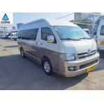 2010 Year 13 Seats Gasoline Toyota Hiace Used Mini Bus for sale
