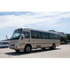 China Coaster Travel Tourist Minibus 7.7M Length Sightseeing Europe market for sale