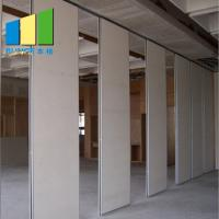 Soundproof Operable Wall Partition With Doors For School / Hotel / Dance Studio for sale