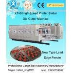 Custom Digital Electric Carton Folding Machine , Carton Sealing Machines Of Die Cutting for sale