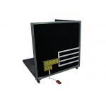 China IEC 60335-1 Matt Black Painted Plywood Temperature Rise Test Corner for sale