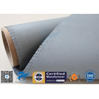 China 1050gsm silicone coated fiberglass cloth For Railway Engine Sparks Protection for sale