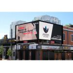 Nationstar Light Outdoor Fixed LED Display IP65 Waterproof For Advertising for sale