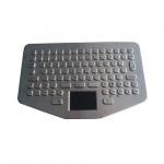 Rugged Vehicle Metal Keyboard with Waterproof Touchpad OEM Keyboard for sale