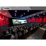 China Customized 5D 9D XD Cinema Theater With Emergency Stop Buttons For Indoor for sale