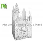 Cardboard Ink Printing DIY Corrugated Cardboard Toys With Special Shape for sale