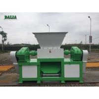 Durable Double Shaft Metal Shredder Machine High Capacity Copper Cable Shredder for sale