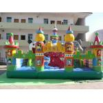 Children Giant Inflatable Theme Park / Outdoor Blow Up Playground for sale