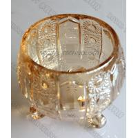 China Glass Jars Rose Gold PVD Coating / 0.5 - 3 Microns Thin Film Coating Services supplier