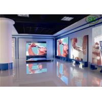 High resolution exhibition LED large display , P 10 LED full color screen for sale
