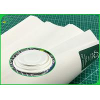 Paper Plates Material 100G 120G Pure White Kraft Paper Roll Food Grade Certified