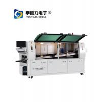 SMT lead free wave soldering machine for pcb /dual wave soldering manufacturer WS350 For Dip production line for sale