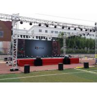 Easy Installation Removable Rental RGB LED Display SMD Full Color Panel For Stages for sale