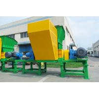 China High Efficiency Double Shaft Shredder Material Force Feeding System Liquid Waste for sale