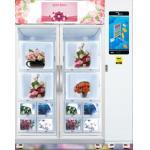 Fresh flower vending machine, Micron