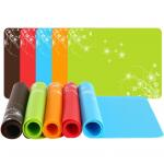 Flower Silicone Kids Product Size 40*30CM*0.85MM Flexibale Space Saving for sale