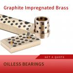 China Slide Bearing with Flange-Bronze sintered with self-lubrication for sale
